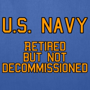 US Navy - Retired T-Shirts - Tote Bag