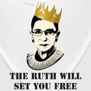 ruth will set you free Women's T-Shirts - Bandana