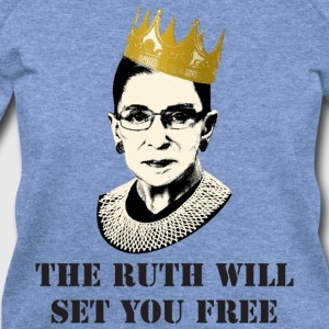ruth will set you free Women's T-Shirts - Women's Wideneck Sweatshirt