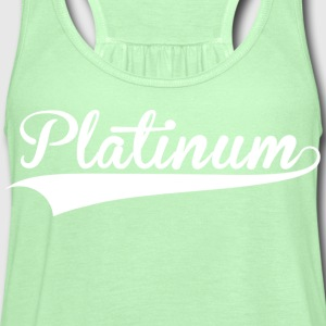 Platinum Green Arrow - Women's Flowy Tank Top by Bella