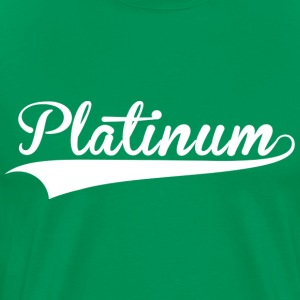 Platinum Green Arrow - Men's Premium T-Shirt