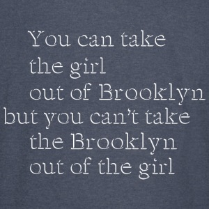 Brooklyn New York NYC Girl Hoodies - Vintage Sport T-Shirt