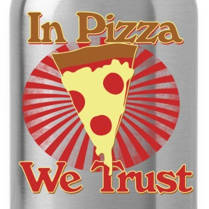 In pizza we trust - Water Bottle