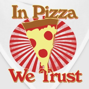In pizza we trust - Bandana