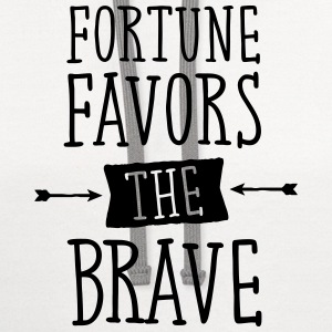 Fortune Favors The Brave Tanks - Contrast Hoodie