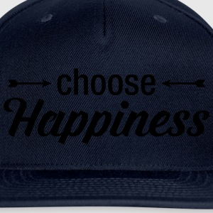 Choose Happiness Tanks - Snap-back Baseball Cap