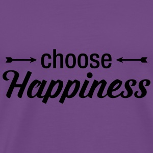 Choose Happiness Tanks - Men's Premium T-Shirt