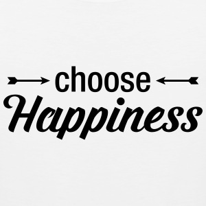 Choose Happiness T-Shirts - Men's Premium Tank