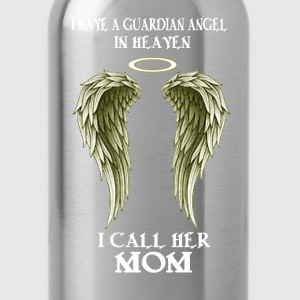 I have a Guardian Angel - I call her MOM - Water Bottle