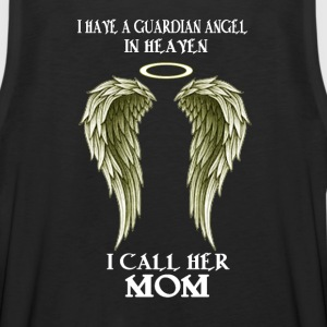 I have a Guardian Angel - I call her MOM - Men's Premium Tank