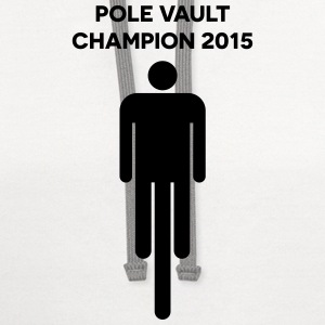 Pole Vault Champion 2015 Women's T-Shirts - Contrast Hoodie