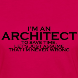 ARCHITECT T-SHIRT - Women's Premium Long Sleeve T-Shirt