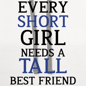Every Short Girl Needs A Tall Best Friend - Contrast Hoodie
