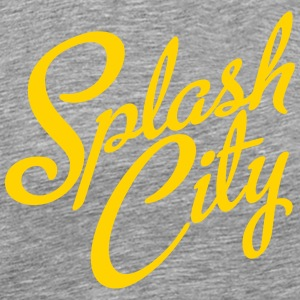 Splash City Hoops CA Basketball Tank Tops - Men's Premium T-Shirt