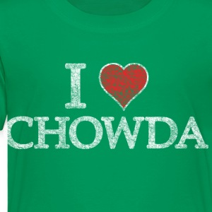 I Heart Chowder Chowda Kids' Shirts - Toddler Premium T-Shirt