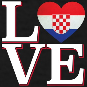 LOVE Croatia Mugs & Drinkware - Men's T-Shirt