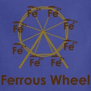 Ferrous Wheel (with text) Women's T-Shirts - Adjustable Apron