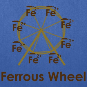 Ferrous Wheel (with text) Women's T-Shirts - Tote Bag