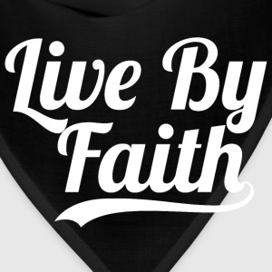 Live By Faith 2 Corinthians 5:7- Bible verse Quote - Bandana