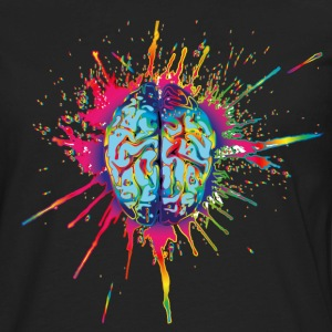 LSD Brain T-Shirts - Men's Premium Long Sleeve T-Shirt