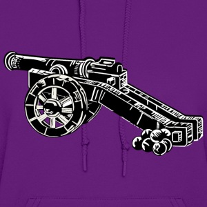 medieval cannon - Women's Hoodie