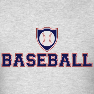 Baseball Shield Hoodies - Men's T-Shirt