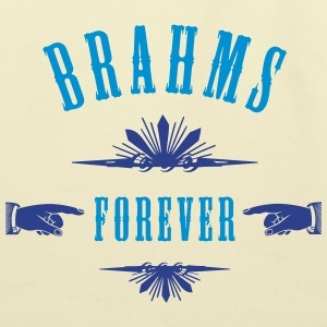 Brahms Forever - Eco-Friendly Cotton Tote