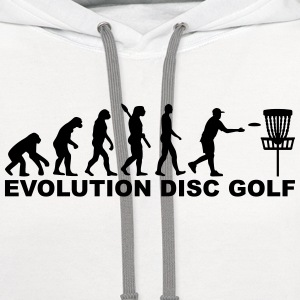 Evolution Disc Golf T-Shirts - Contrast Hoodie