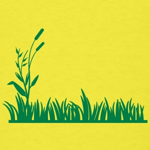 grass background - Men's T-Shirt