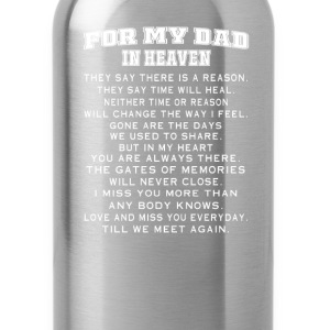 DAD IN HEAVEN - Water Bottle