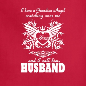 My guardian Angel, My Husband - Adjustable Apron