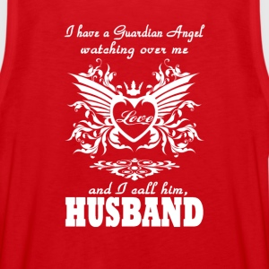 My guardian Angel, My Husband - Men's Premium Tank