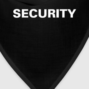 Security T-shirt (3) - Bandana