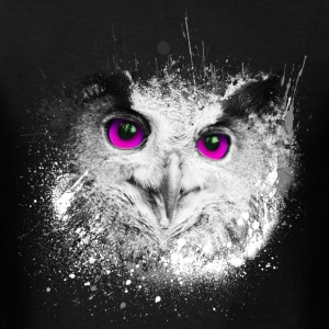Owl Splash - Men's T-Shirt