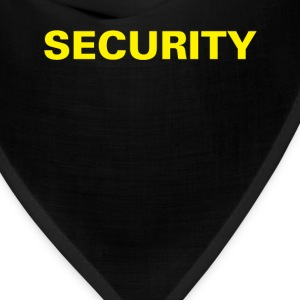 Security T-shirt (1) - Bandana