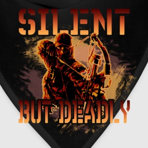 Bow hunting T-Shirt - Silent but deadly - Bandana