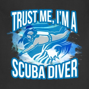Scuba diving T-shirt - I am scuba diver - Adjustable Apron