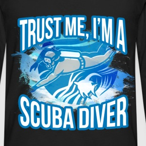Scuba diving T-shirt - I am scuba diver - Men's Premium Long Sleeve T-Shirt