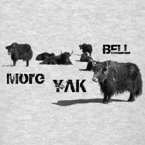 More Yak Bell  - Men's T-Shirt