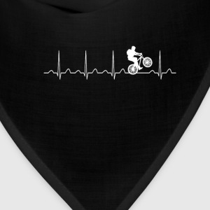 Mountainbike Heartbeat - Bandana