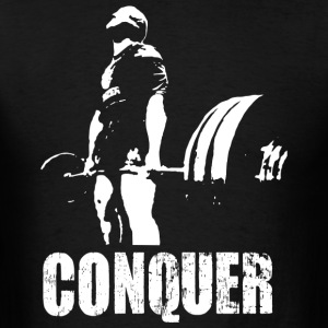 Conquer - Deadlift - Men's T-Shirt