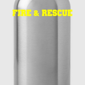 Fire and Rescue T-shirt 3 - Water Bottle