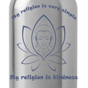 My religion is kindness T-Shirts - Water Bottle