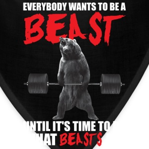 Bodybuilding - Everybody Wants To Be A Beast - Bandana