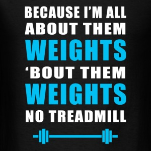 Funny Gym Weights Fitness - Men's T-Shirt