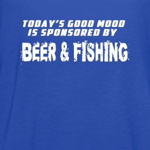 Good mood beer & fishing T-Shirts - Women's Flowy Tank Top by Bella