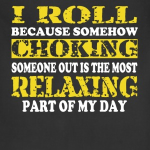 I roll relax yellow T-Shirts - Adjustable Apron