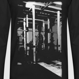 Bodybuilding - Squat Rack Tanks - Men's Premium Long Sleeve T-Shirt