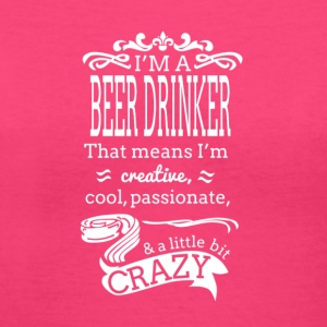 I'm A Beer Drinker Women's Hooded Sweatshirt - Women's V-Neck T-Shirt