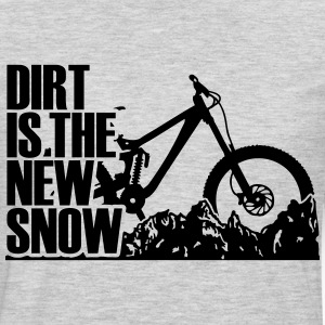 dirt is the new Snow RM T-Shirts - Men's Premium Long Sleeve T-Shirt